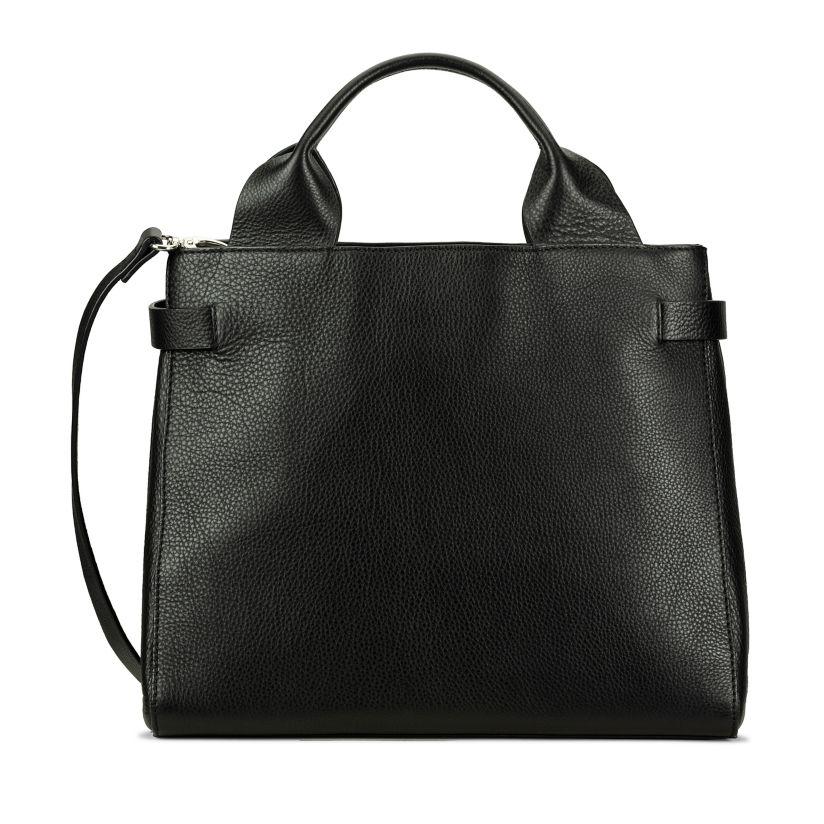 The Ella Large Black Leather