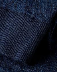 Semi-Plain Socks - Navy & Royal Blue