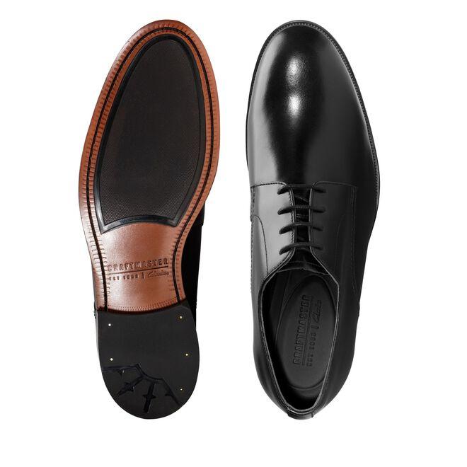 Oliver Lace Black Leather