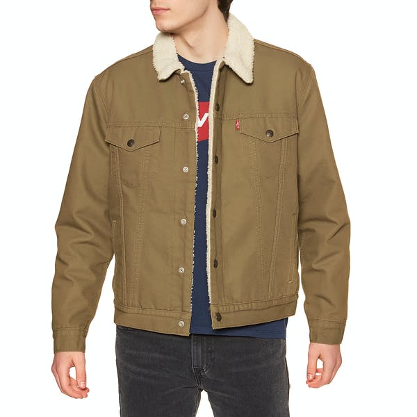 LEVI'S TYPE 3 SHERPA TRUCKER MEN'S JACKET
