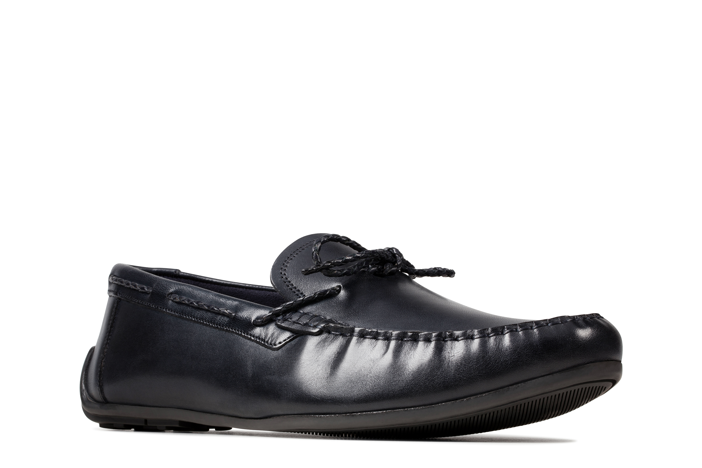 Reazor Navy Boat Shoe