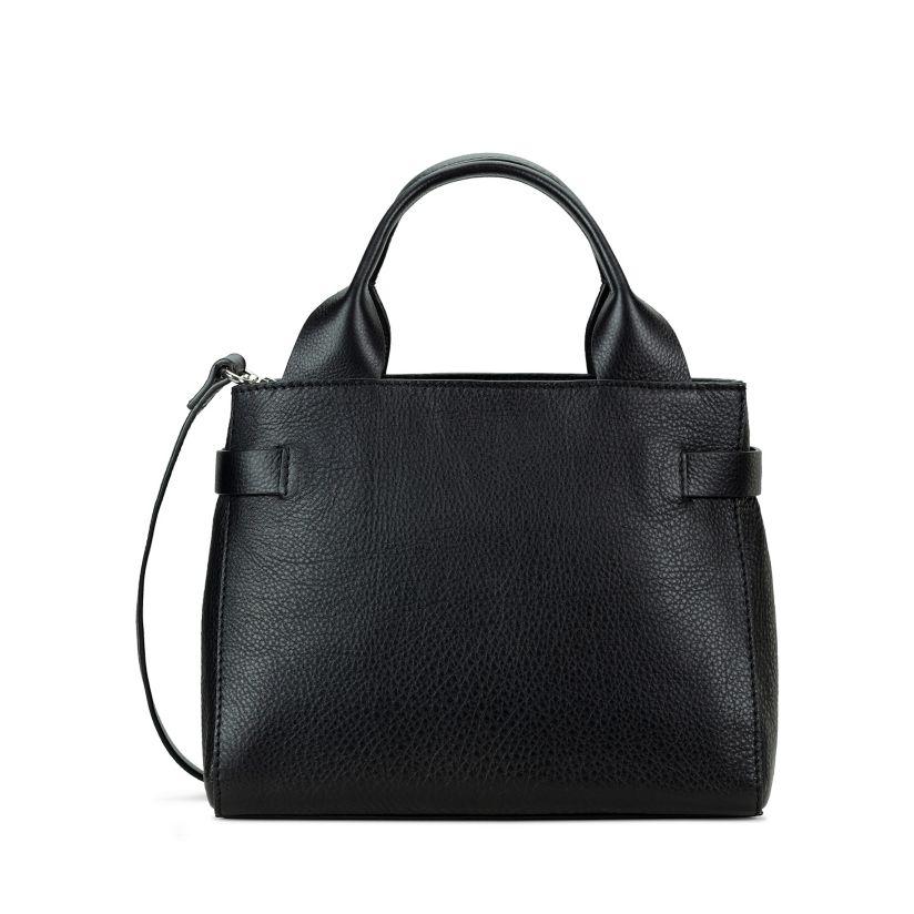 The Ella Small Black Leather