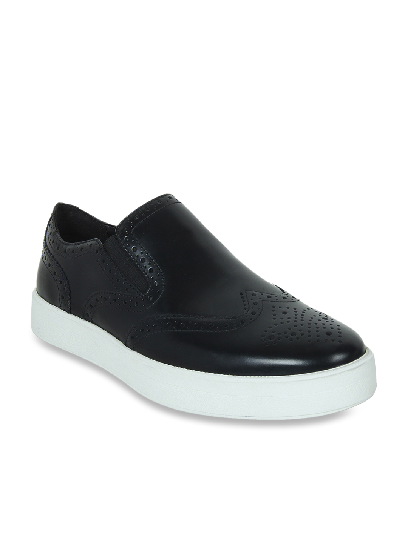 Hero Step Black Leather