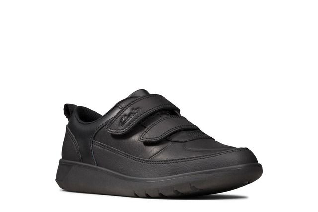 Scape Flare Kid Black Leather
