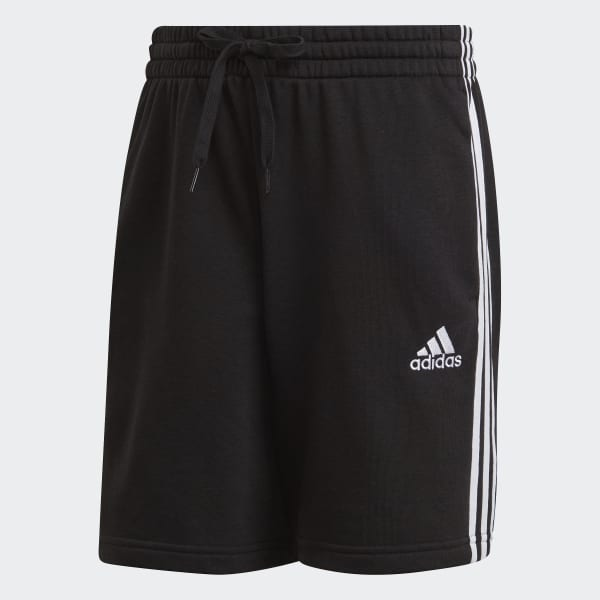 Essentials French Terry 3-Stripes Shorts